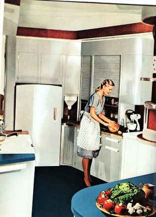1940s Kitchen, Better Homes and Garden