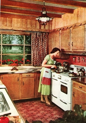 1950s Kitchen, Better Homes and Garden