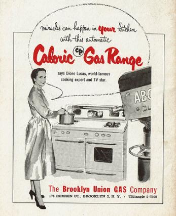 Dione Lucas Caloric Gas Ad