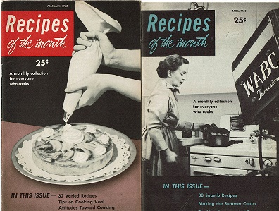 Dione Lucas' Recipes of the Month 1