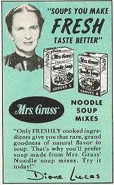Dione Lucas Soup Ad