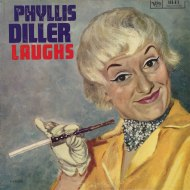 Phyllis Diller - Laughs front