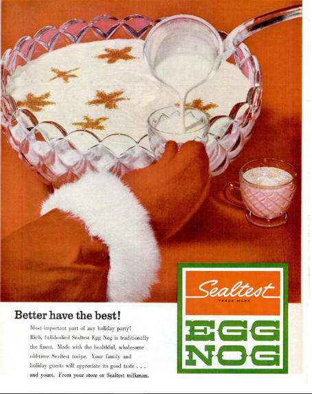 SealtestEggNogAd1960