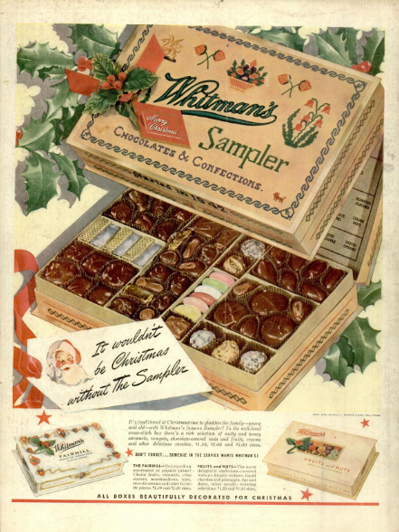 WhitmansAdLifeMag1940s